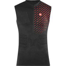 Compressport Trail Running Postural Top Tri sin Mangas Hombre, black